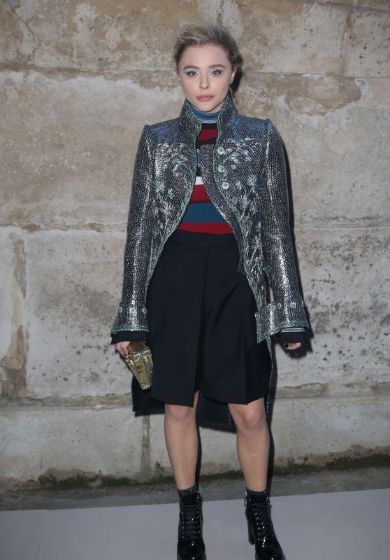 Chloe Moretz – Louis Vuitton Fashion Show in Paris 03/06/2018
