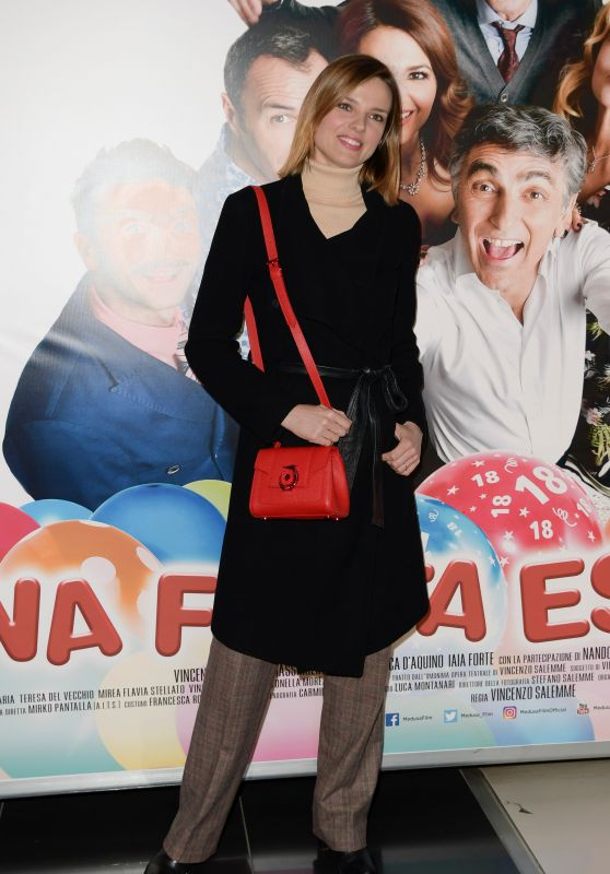 "Christiane Filangieri – ""Una Festa Esagerata"" Movie Screening in Rome"