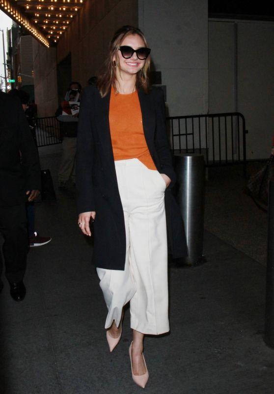 "Christine Evangelista Promoting ""The Arrangement"" New Season in New York City"