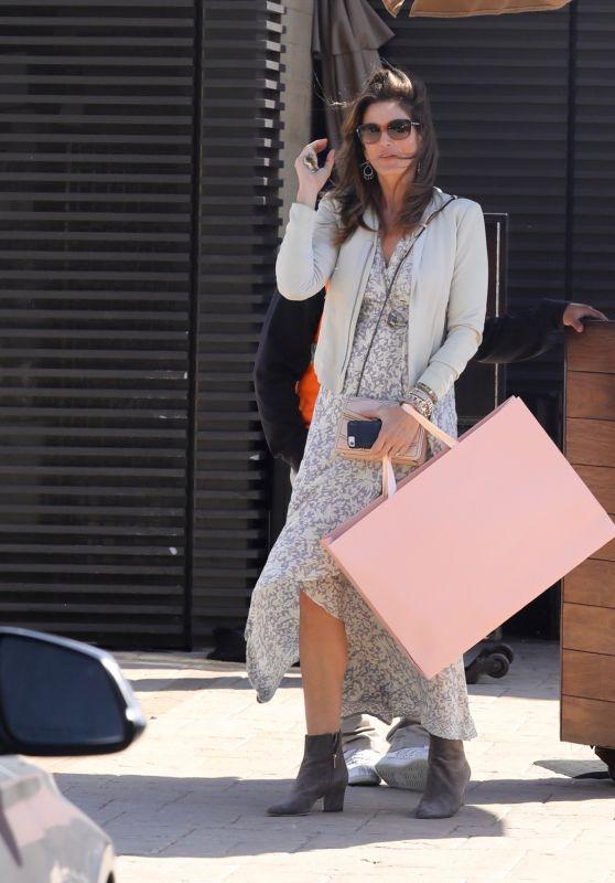Cindy Crawford Style - Leaving Restaurant in Malibu 03/24/2018