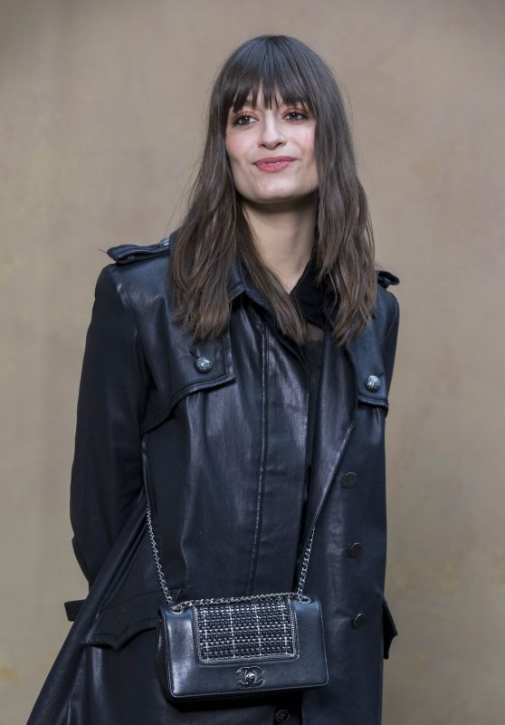 Clara Luciani – Chanel Fashion Show FW18 in Paris