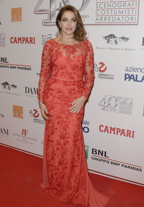 Claudia Gerini – 40 Years of the Italian Association of Costume Designers and Decorators Party in Rome