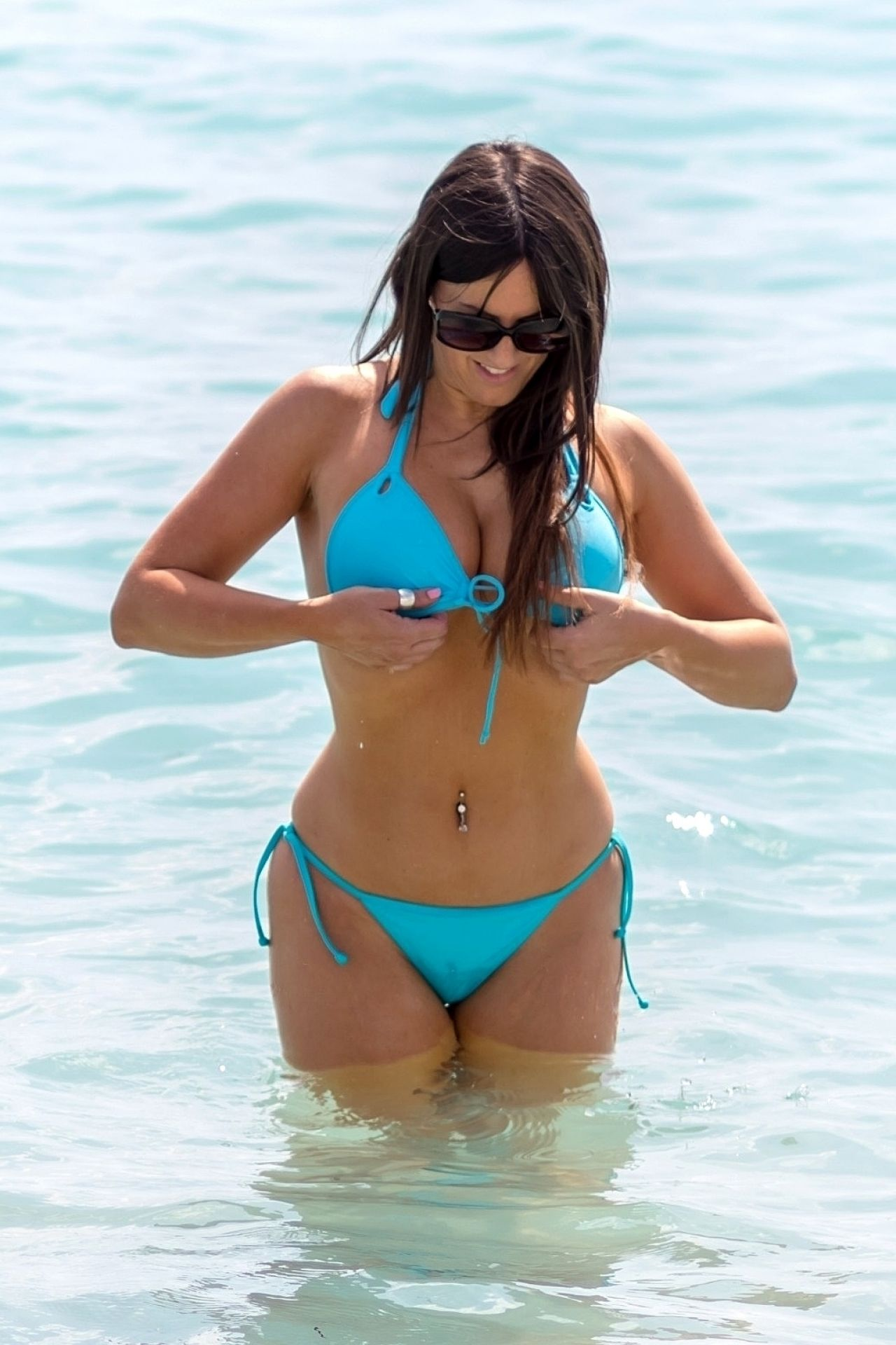 Claudia Romani In Bikini South Beach In Miami 03 22 2018