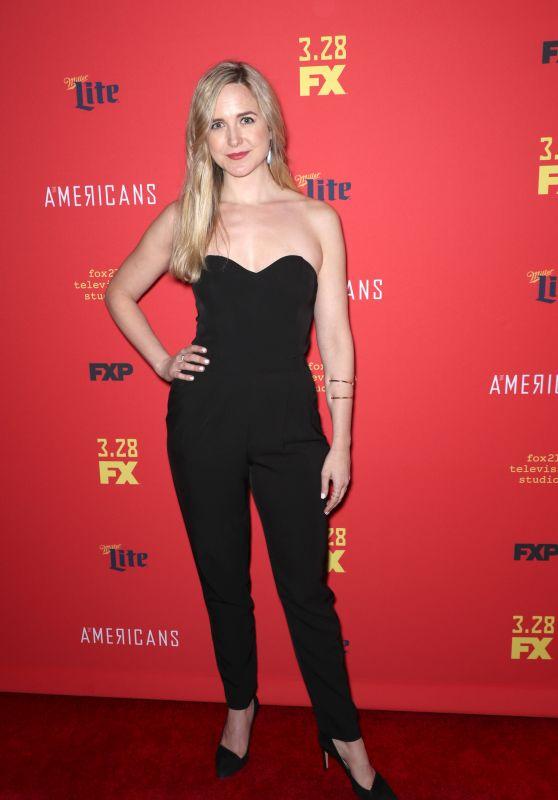 "Clea Alsip - ""The American's' TV Show Premiere in NY"