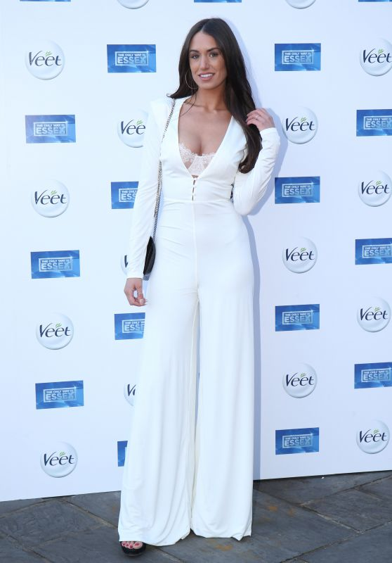 """Clelia Theodorou – """"The Only Way Is Essex"""" TV Show Premiere in Chigwell"""
