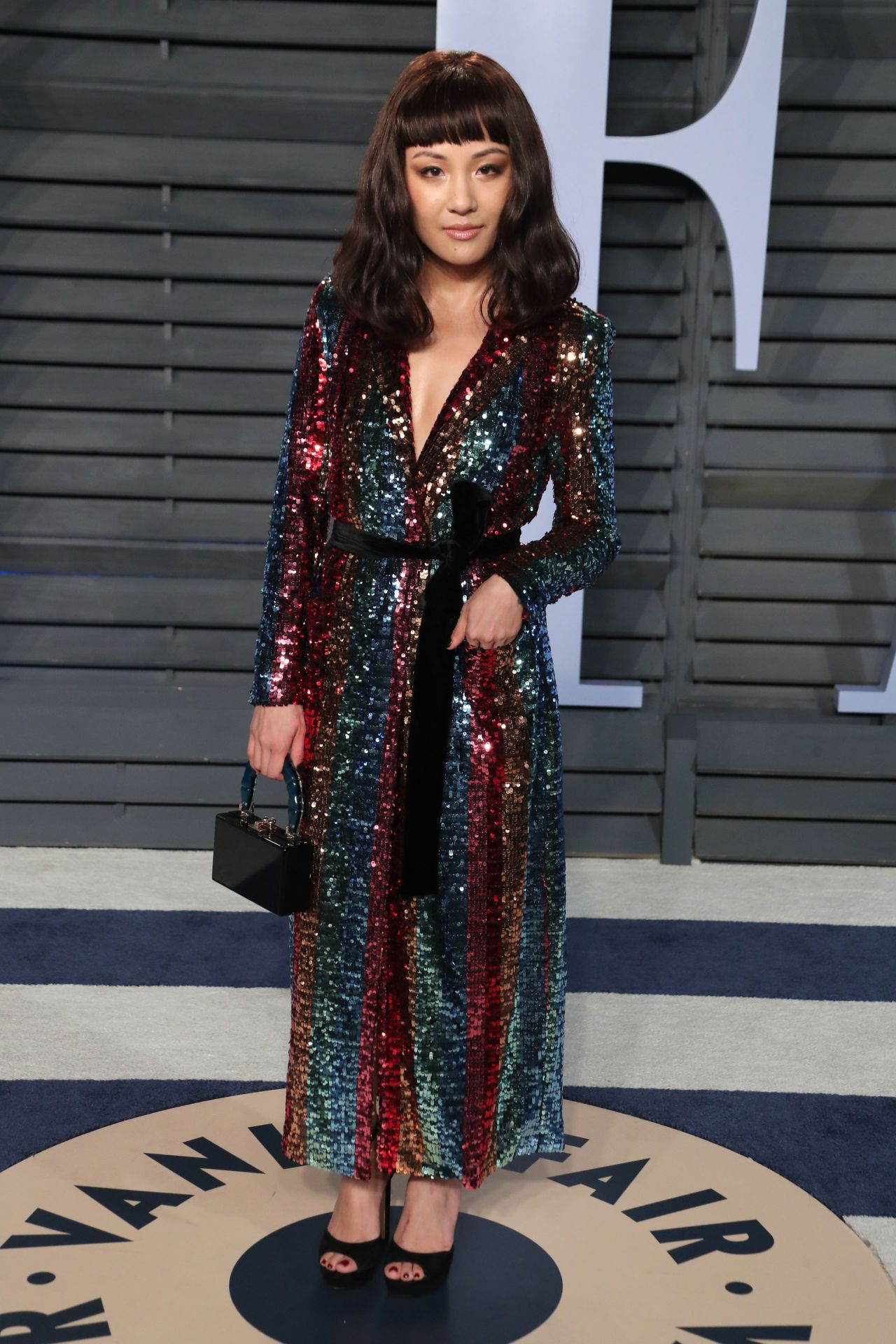 Constance Wu 2018 Vanity Fair Oscar Party In Beverly Hills