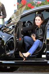 Courteney Cox Casual Style - Out in West Hollywood 03/06/2018