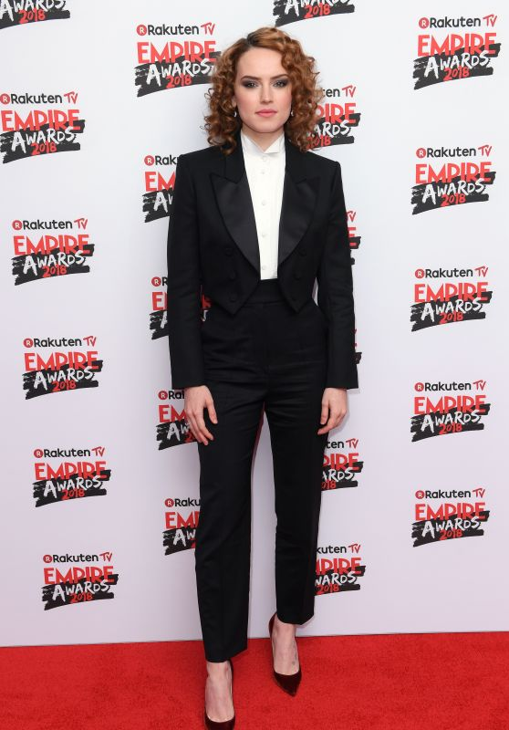 Daisy Ridley – 2018 Empire Film Awards in London