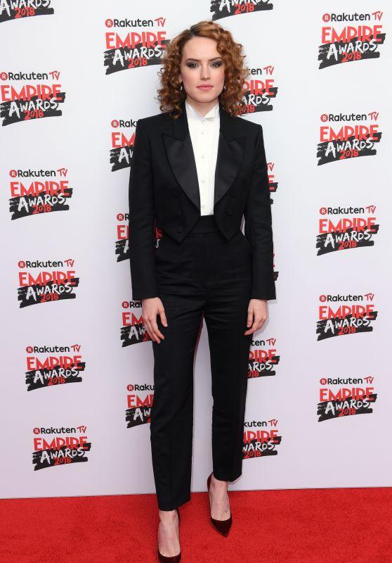 Daisy Ridley – 2018 Empire Film Awards in London