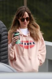 Dakota Johnson - Leaving the Studio in Burnaby, Canada 03/07/2018