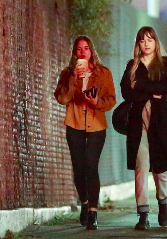 Dakota Johnson - Out to Dinner With a Girlfriend in West Hollywood 03/02/2018