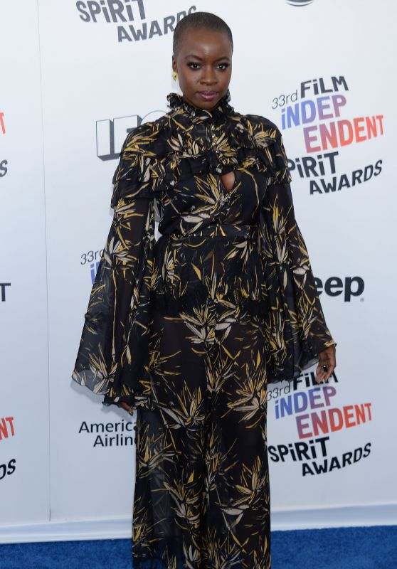 Danai Gurira – 2018 Film Independent Spirit Awards in Santa Monica