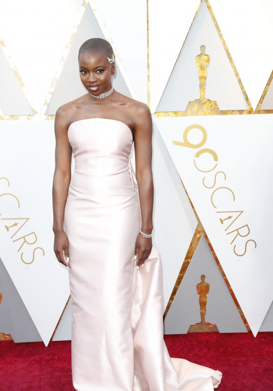 Danai Gurira – Oscars 2018 Red Carpet