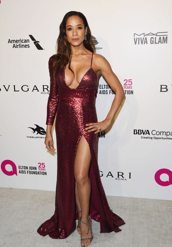 Dania Ramirez – Elton John AIDS Foundation's Oscar 2018 Viewing Party in West Hollywood