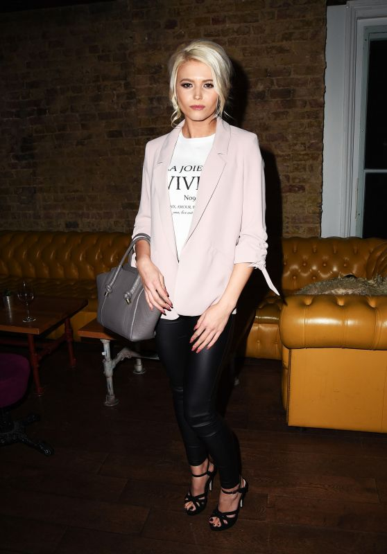 Danielle Harold - Hereford Television Launch Party in London 03/21/2018
