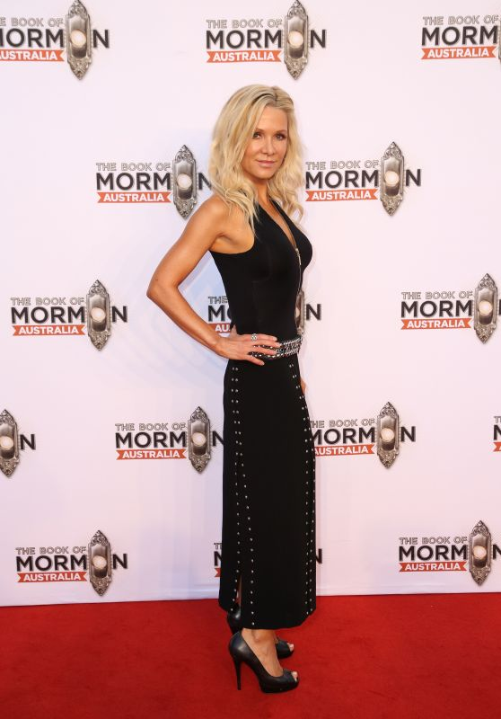Danielle Spencer – The Book Of Mormon Opening Night in Sydney 03/09/2018