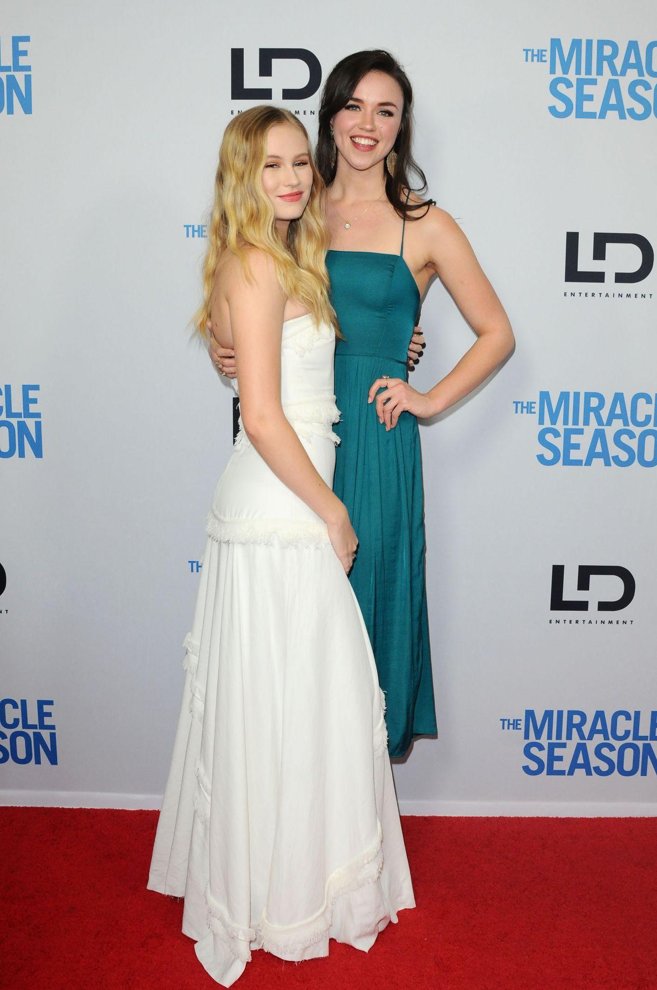 Danika Yarosh The Miracle Season Special Screening In