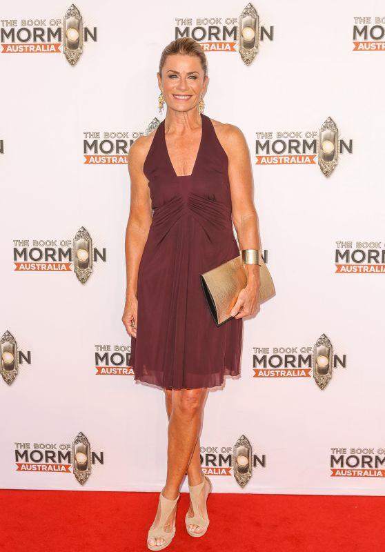 Deborah Hutton – The Book Of Mormon Opening Night in Sydney 03/09/2018