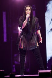 """Demi Lovato - Performs """"Tell Me You Love Me"""" World Tour at the Barclay Center in NYC 03/16/2018"""