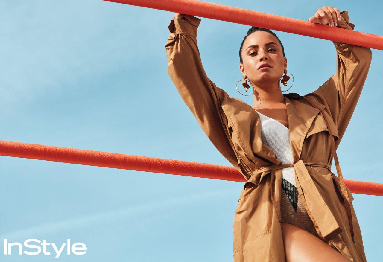 Demi Lovato Photoshoot For Instyle Magazine April 2018