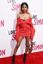 """Diamond White – """"Love, Simon"""" Premiere in LA"""