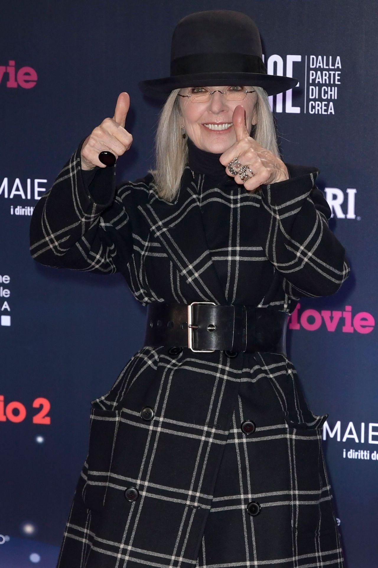 Diane Keaton – 2018 David di Donatello Awards in Rome