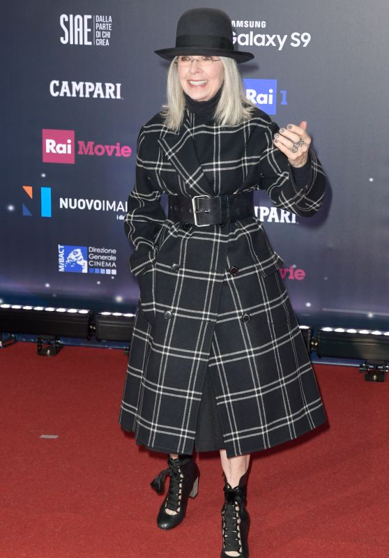 Diane Keaton – 2018 David di Donatello Awards in Rome