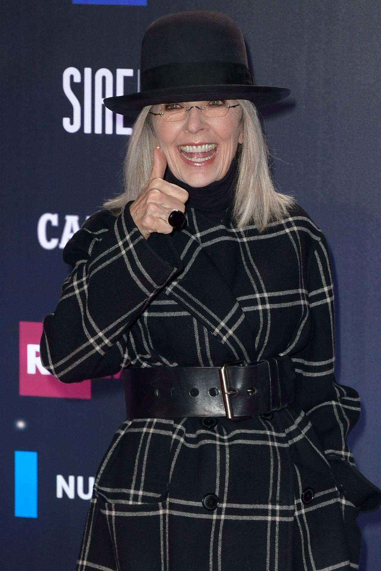 Diane Keaton 2018 David Di Donatello Awards In Rome