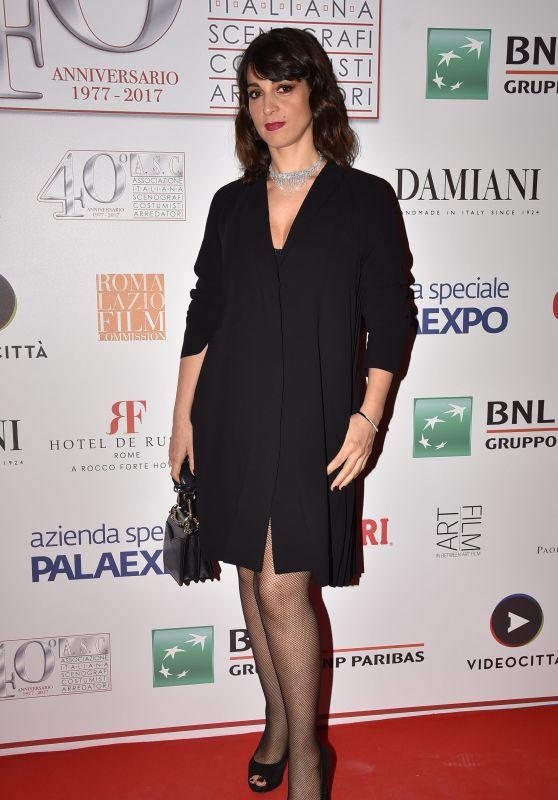 Donatella Finocchiaro - 40 Years of the Italian Association of Costume Designers and Decorators Party in Rome