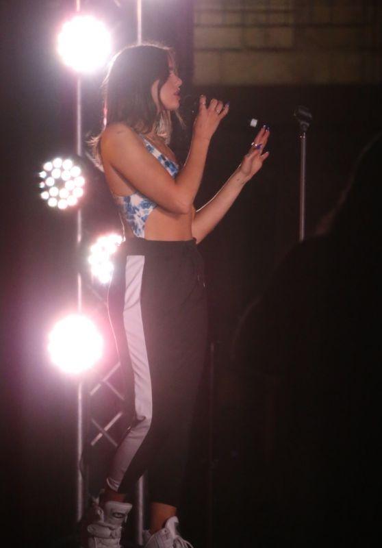 Dua Lipa - Performing at The Camfield in Perth
