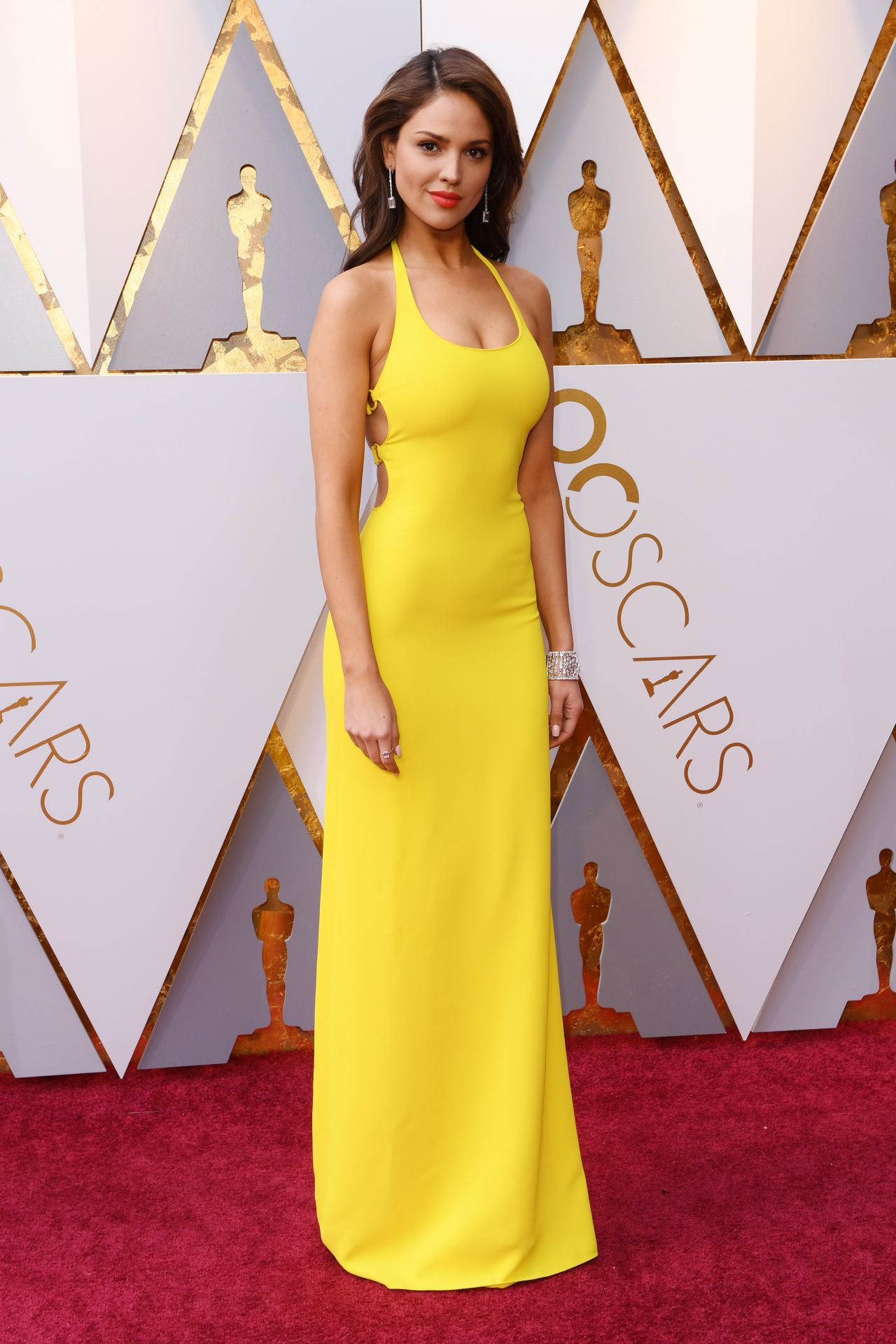 Eiza Gonzalez Oscars 2018 Red Carpet