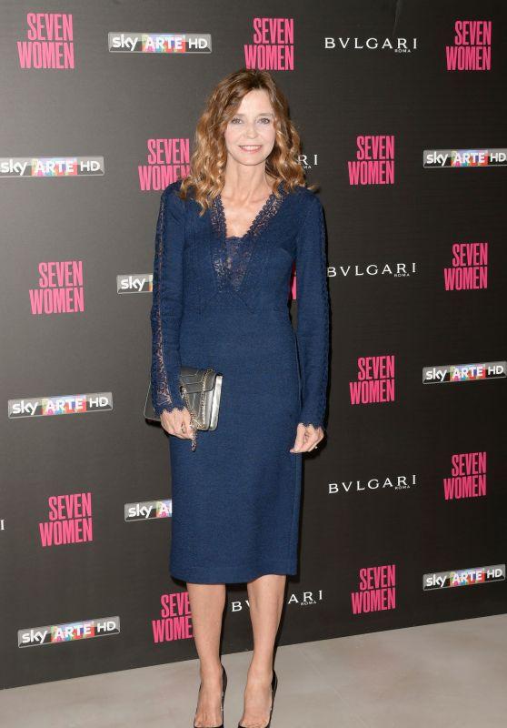 """Eliana Miglio – """"Seven Women"""" Docu-film Premiere in Rome"""
