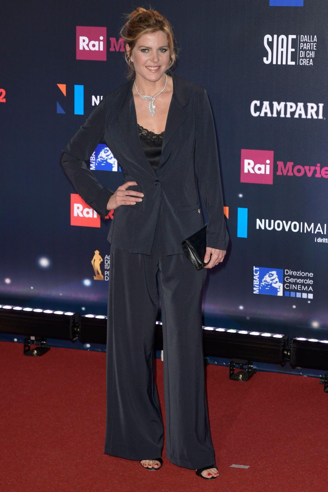 elisabetta pellini  u2013 2018 david di donatello awards in rome
