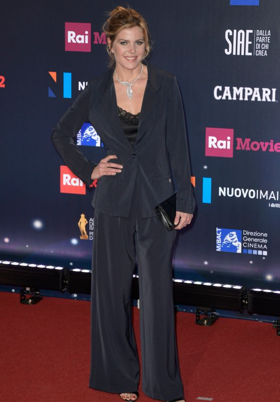Elisabetta Pellini – 2018 David di Donatello Awards in Rome