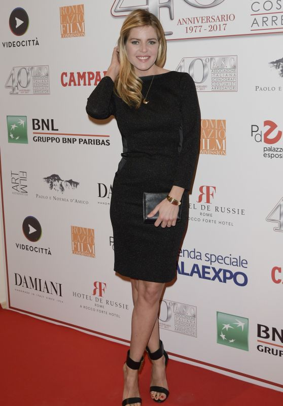 Elisabetta Pellini – 40 Years of the Italian Association of Costume Designers and Decorators Party in Rome