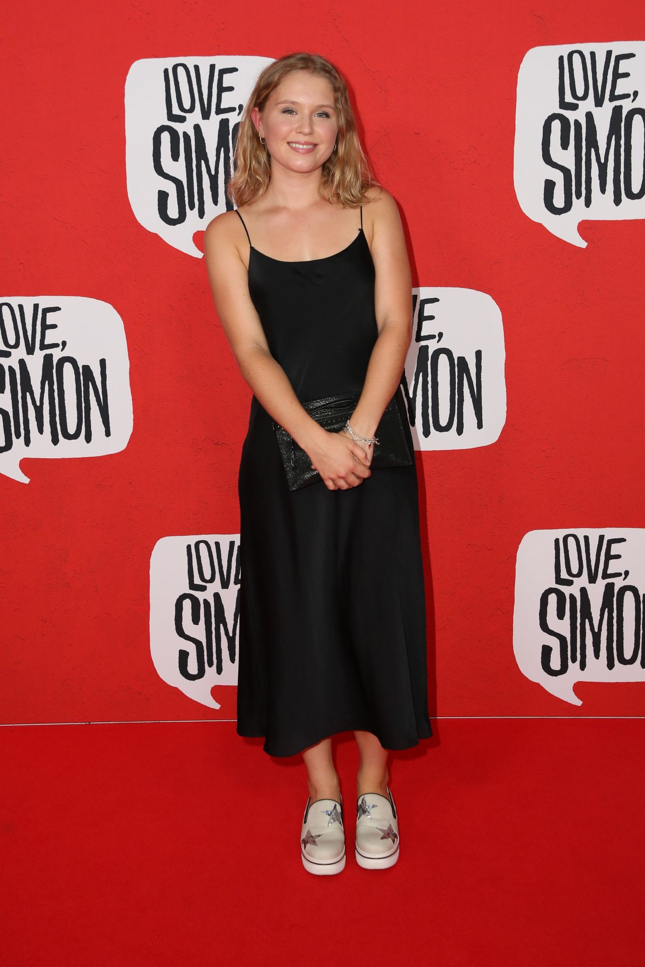 Eliza Scanlen Love Simon Red Carpet In Sydney