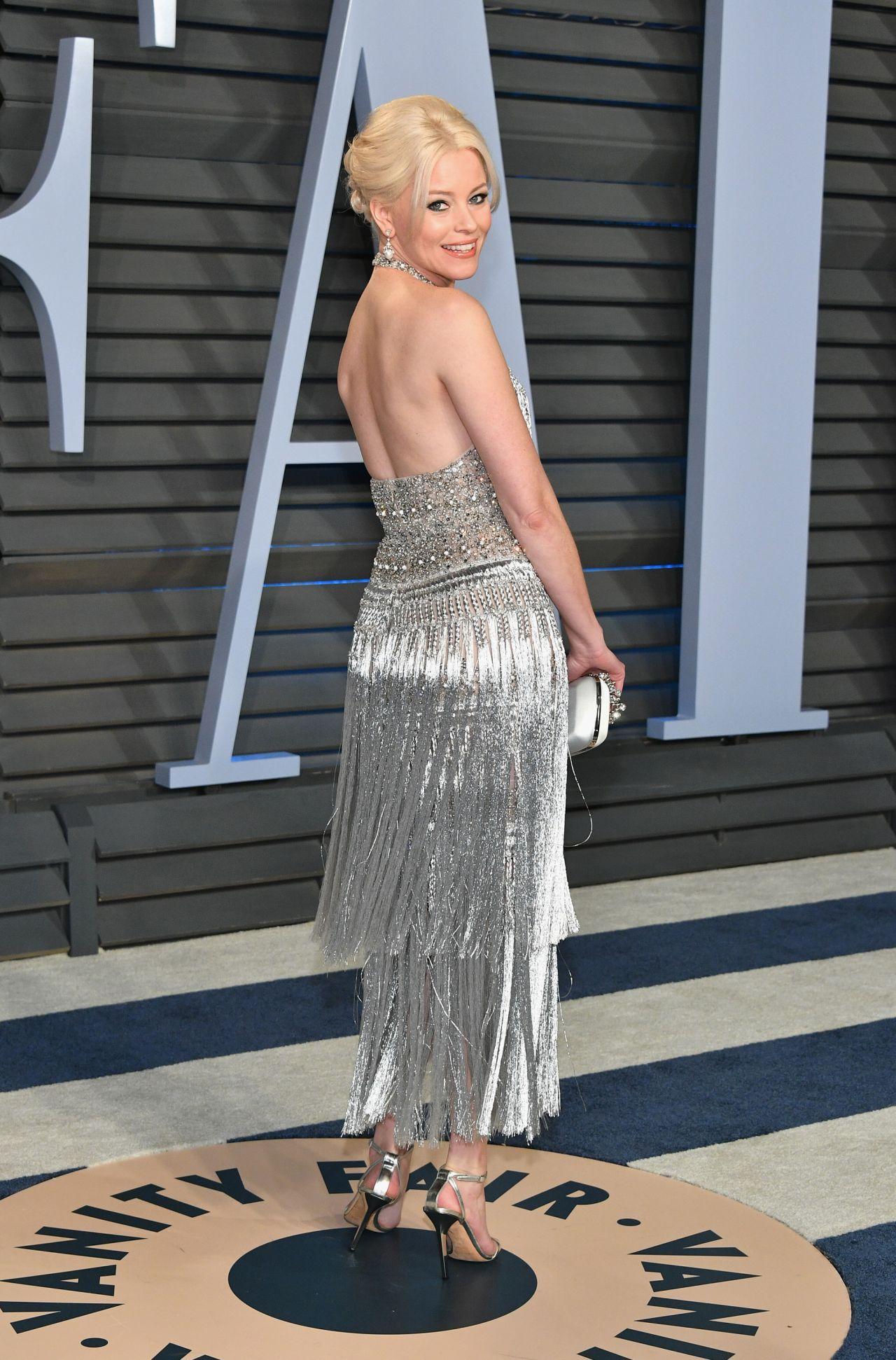 Elizabeth Banks 2018 Vanity Fair Oscar Party In Beverly