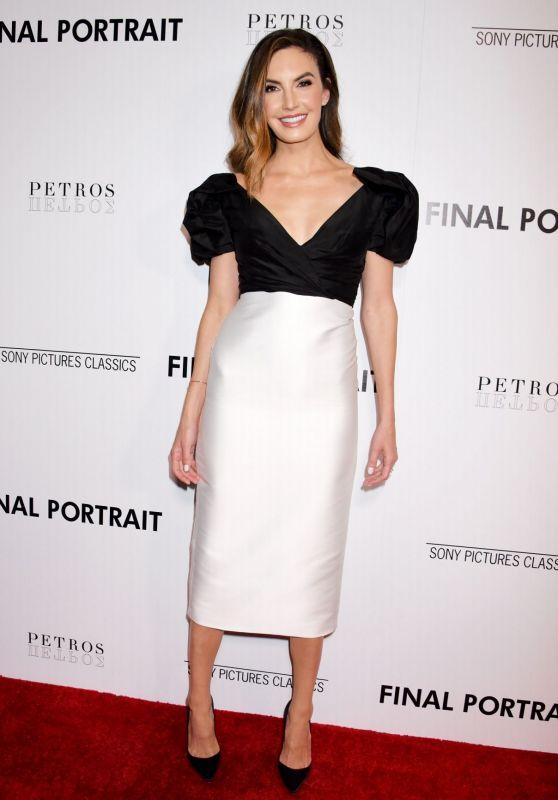 """Elizabeth Chambers – """"Final Portrait"""" Screening in LA"""