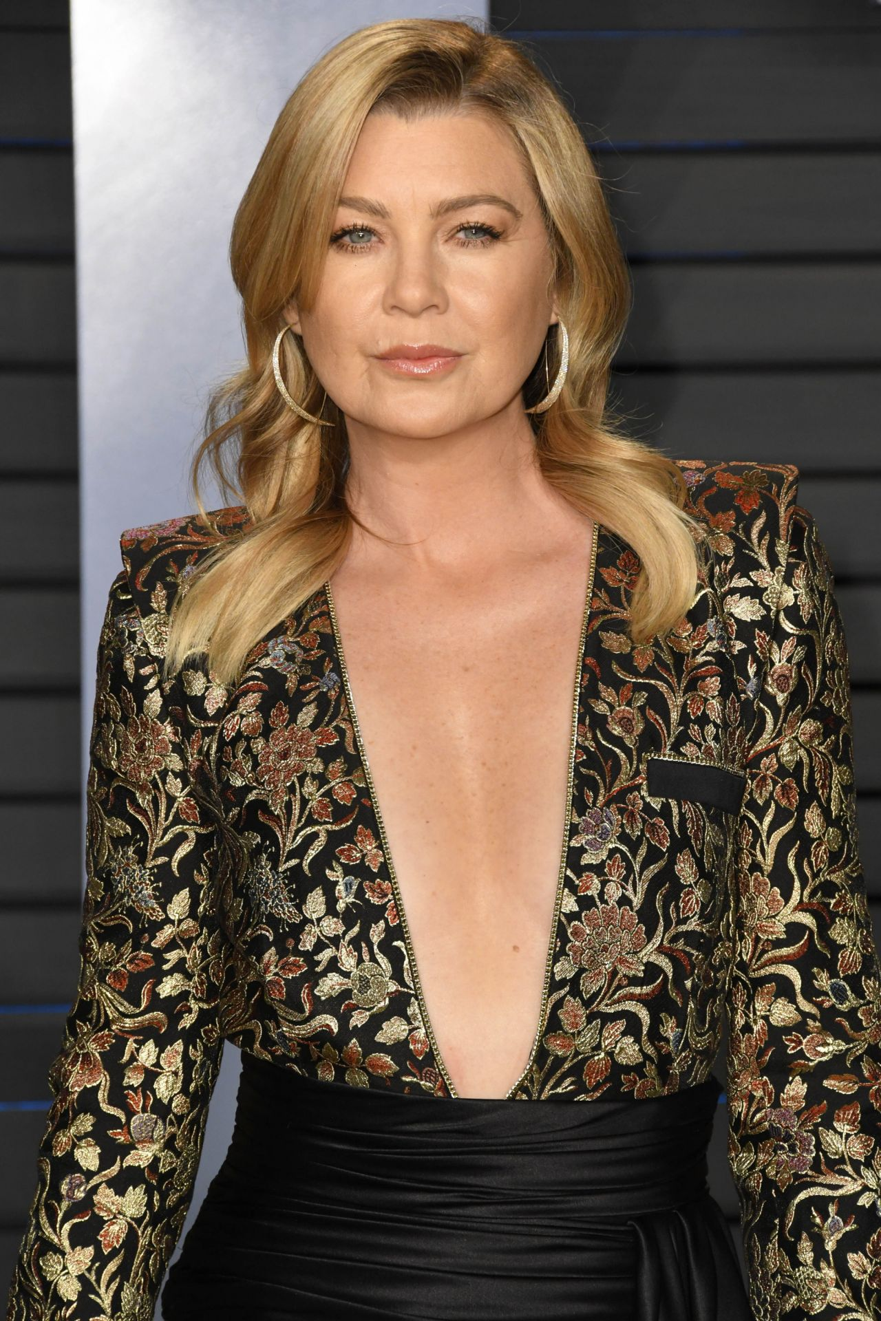 ellen pompeo � 2018 vanity fair oscar party in beverly hills