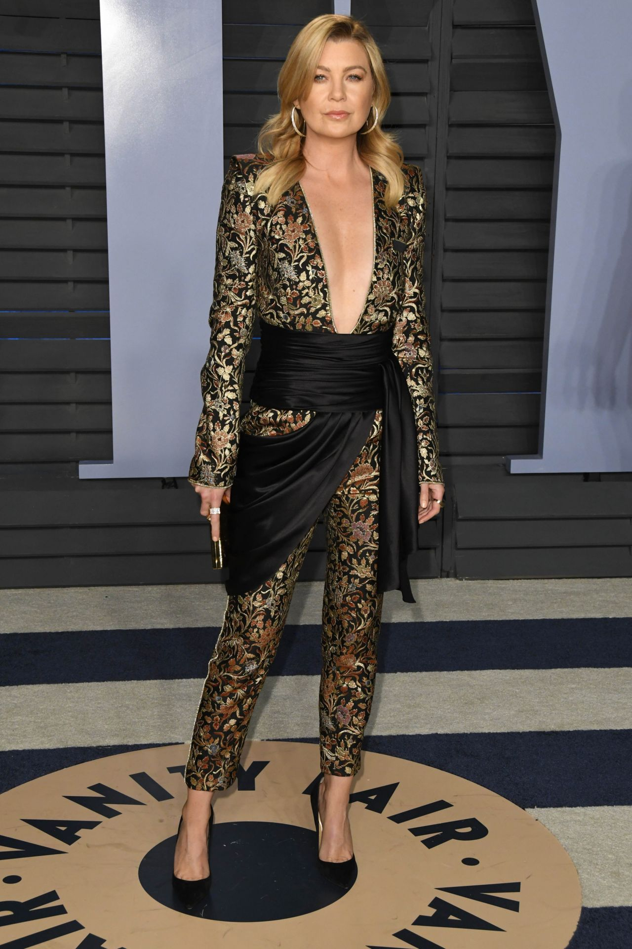 Ellen Pompeo 2018 Vanity Fair Oscar Party In Beverly Hills