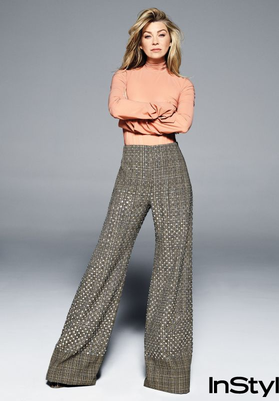 Ellen Pompeo - InStyle Magazine Photoshoo, March 2018