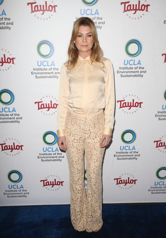 Ellen Pompeo – UCLA's Institute of the Environment and Sustainability Gala in LA
