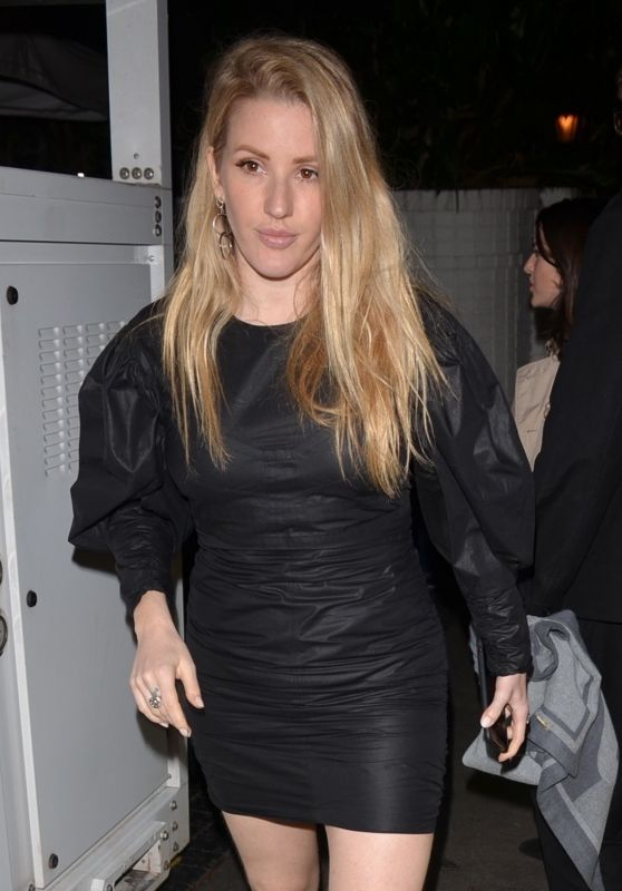 Ellie Goulding - Exits the Chateau Marmont After a Pre-Oscar Event in Los Angeles