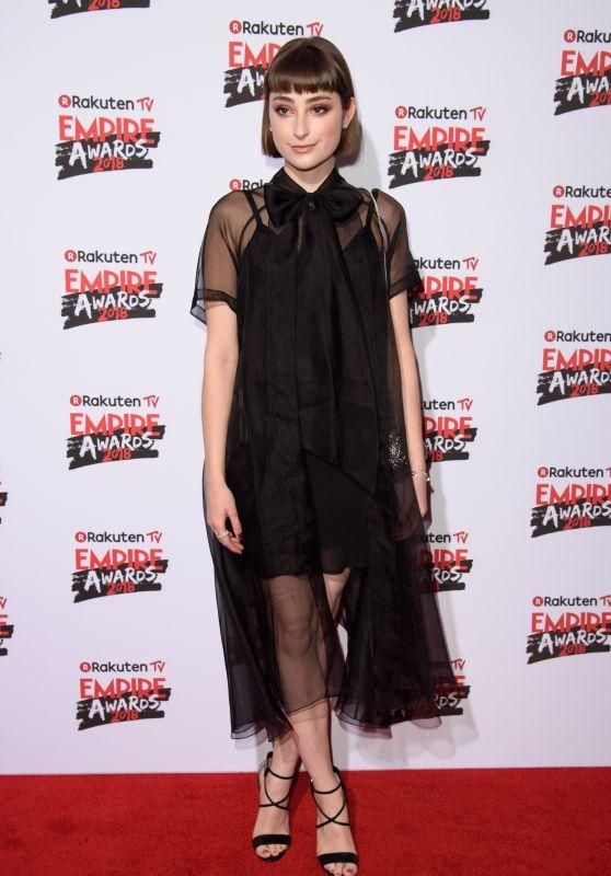 Ellise Chappell – 2018 Empire Film Awards in London