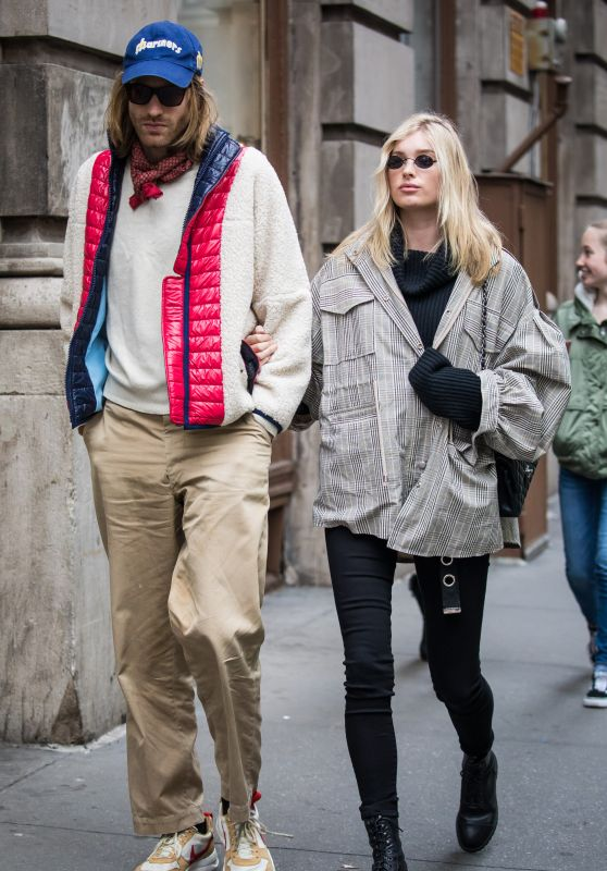 Elsa Hosk and Tom Daly Seen NYC 03/29/2018