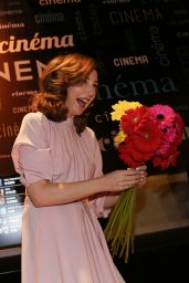Elsa Zylberstein – 19th Edition of the Le Printemps du Cinema 2018 Opening in Paris