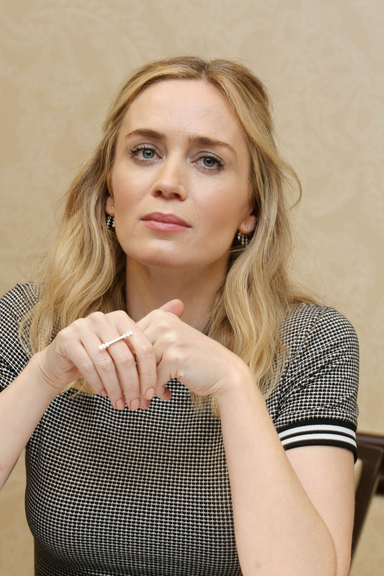 Emily Blunt Quot A Quiet Place Quot Press Conference In Austin