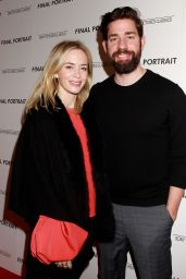 "Emily Blunt - ""Final Portrait"" Screening in NYC"
