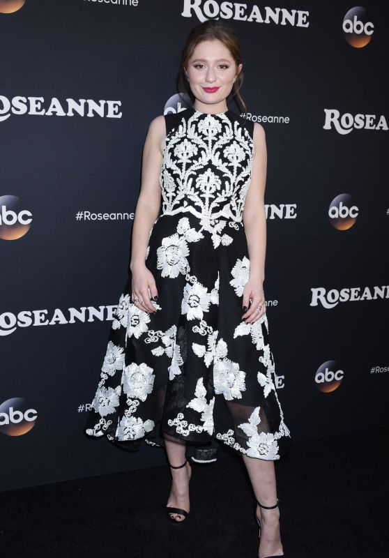 "Emma Kenney - ""Roseanne"" TV Show Premiere in LA"