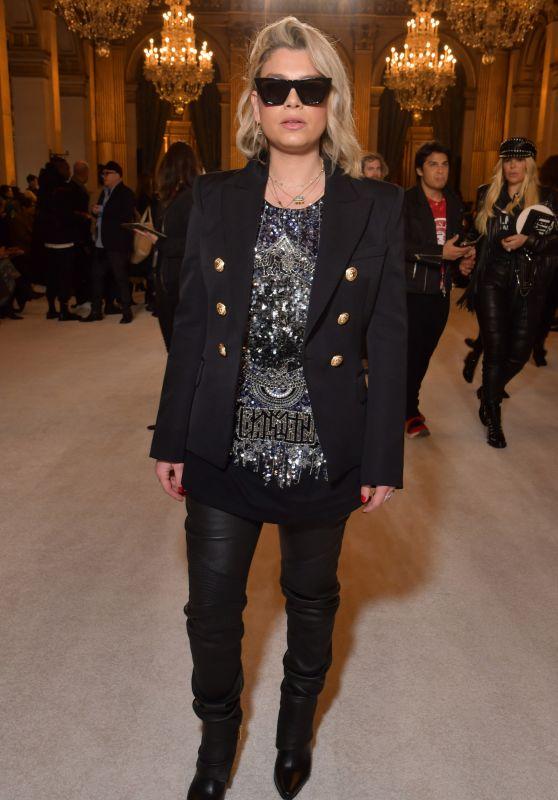 Emma Marrone – Balmain Show FW18 in Paris